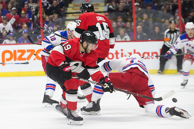 NHL 2018:  Rangers vs Senators FEB 17
