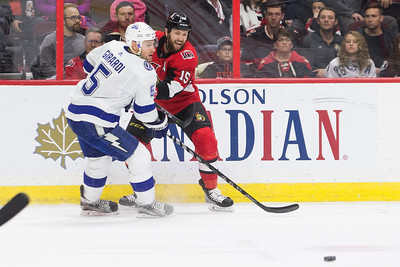 NHL 2018:  Lightning vs Senators FEB 22