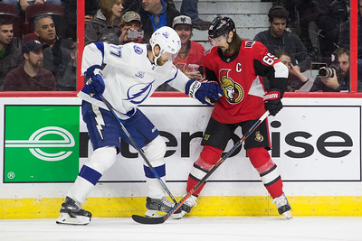 NHL 2018:  Lightning vs Senators FEB 22
