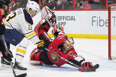NHL 2018:  Sabres vs Senators MAR 08