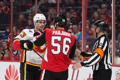 NHL 2018:  Flames vs Senators MAR 09