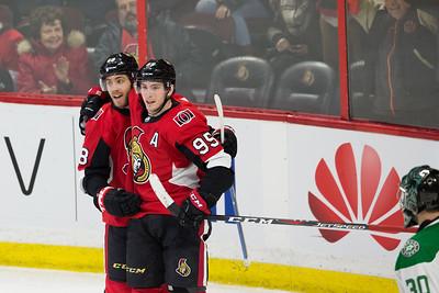 NHL 2018:  Stars vs Senators MAR 16