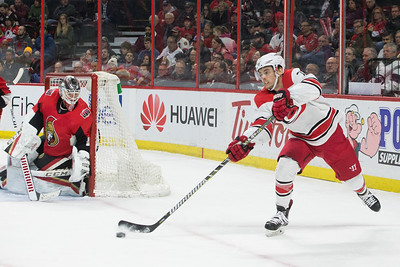 NHL 2018:  Hurricanes vs Senators MAR 24