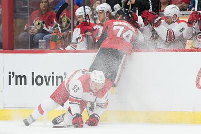 NHL 2018:  Hurricanes vs Senators MAR 24