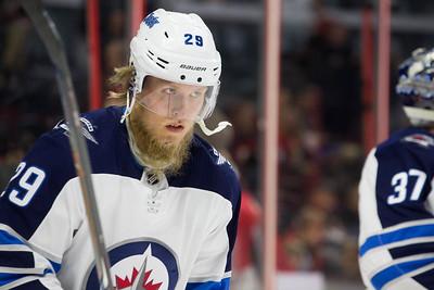 NHL 2018:  Jets vs Senators APR 02