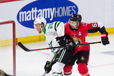 NHL 2018: Stars vs Senators  OCT 15