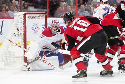 NHL 2018: Canadiens vs Senators  OCT 20
