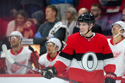 NHL 2018: Red Wings vs Senators  NOV 15