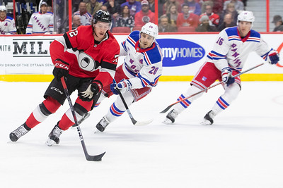 NHL 2018: Rangers vs Senators  NOV 29