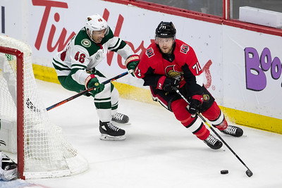 NHL 2019: Wild vs Senators  JAN 05