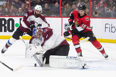 NHL 2019: Avalanche vs Senators  JAN 16
