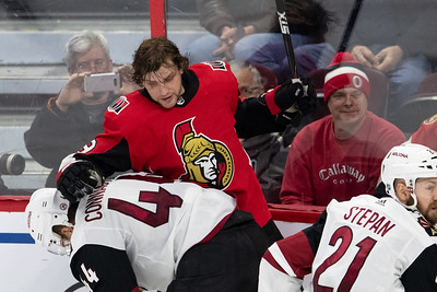 NHL 2019: Coyotes vs Senators  JAN 22