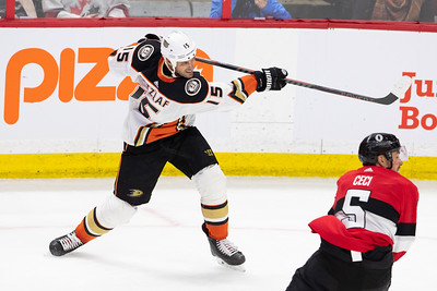 NHL 2019: Ducks vs Senators  FEB 07
