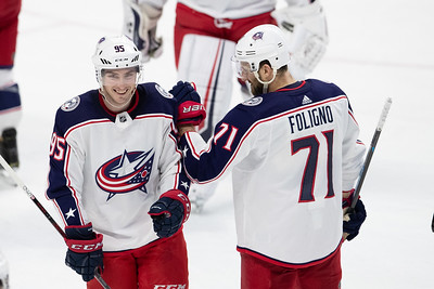 NHL 2019: Blue Jackets vs Senators  FEB 22