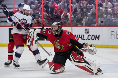 NHL 2019: Blue Jackets vs Senators  FEB 22