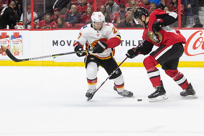 NHL 2019: Flames vs Senators  FEB 24