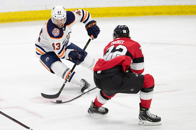 NHL 2019: Oilers vs Senators  FEB 28