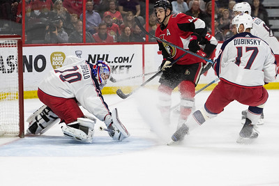 NHL 2019: Blue Jackets vs Senators  APR 06