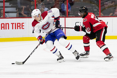 NHL 2019: Canadiens vs Senators  SEP 21