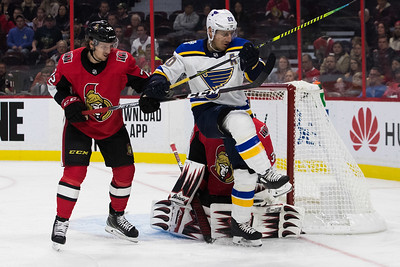NHL 2019: Blues vs Senators  OCT 10