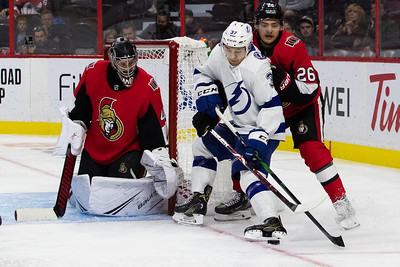 NHL 2019: Lightning vs Senators  OCT 12