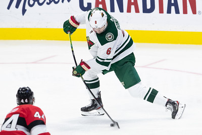 NHL 2019: Wild vs Senators  OCT 14
