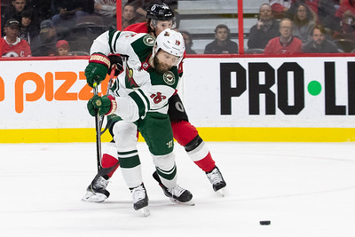 NHL 2019: Wild vs Senators  OCT 14