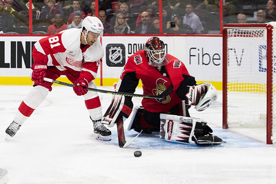 NHL 2019: Red Wings vs Senators  OCT 23