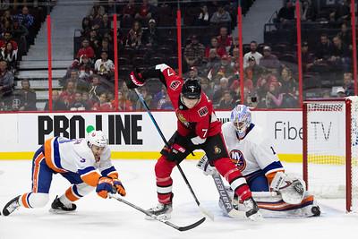 NHL 2019: Islanders vs Senators  OCT 25