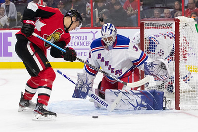 NHL 2019: Rangers vs Senators  NOV 22