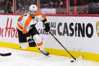 NHL 2019: Flyers vs Senators  NOV 15