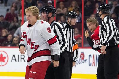 NHL 2019: Hurricanes vs Senators  NOV 09