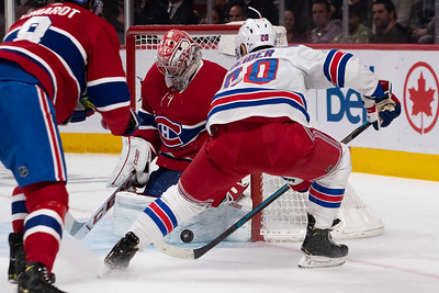 NHL 2019: Rangers vs Canadiens  NOV 23