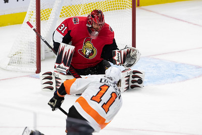 NHL 2019: Flyers vs Senators  NOV 15