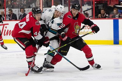 NHL 2019: Sharks vs Senators  OCT 27