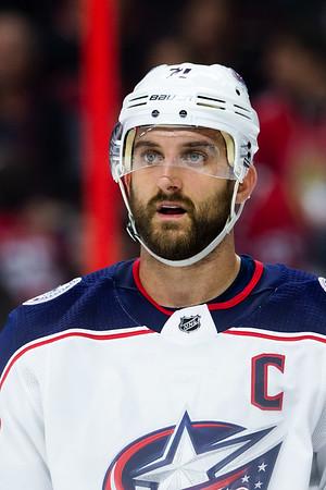 NHL 2019 DEC 14: Blue Jackets vs Senators