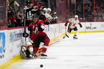 NHL 2020:  Flames vs Senators  JAN 18