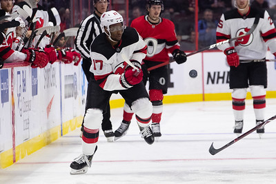 NHL 2020:  Devils vs Senators  JAN 27