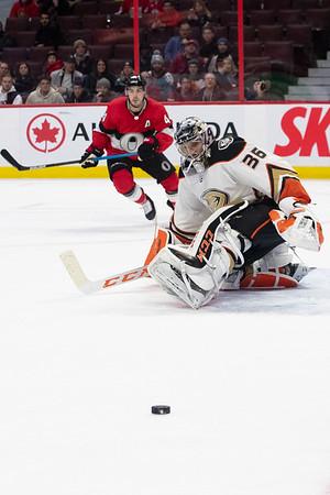 NHL 2020:  Ducks vs Senators  FEB 04