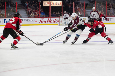 NHL 2020:  Avalanche vs Senators  FEB 06
