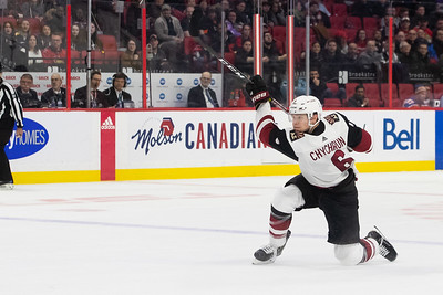NHL 2020:  Coyotes vs Senators  FEB 13