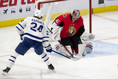 NHL 2020:  Maple Leafs vs Senators  FEB 15