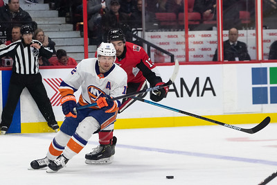 NHL 2020:  Islanders vs Senators  MAR 05