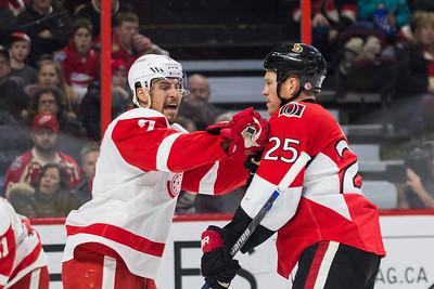 NHL 2016: Red Wings vs Senators February 20