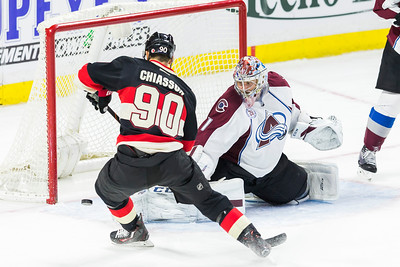 NHL 2016: Avalanche vs Senators February 11