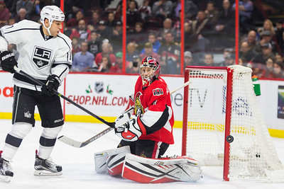 NHL 2015: Kings vs Senators DEC 14