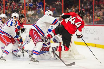 NHL 2016: Rangers vs Senators JAN 24