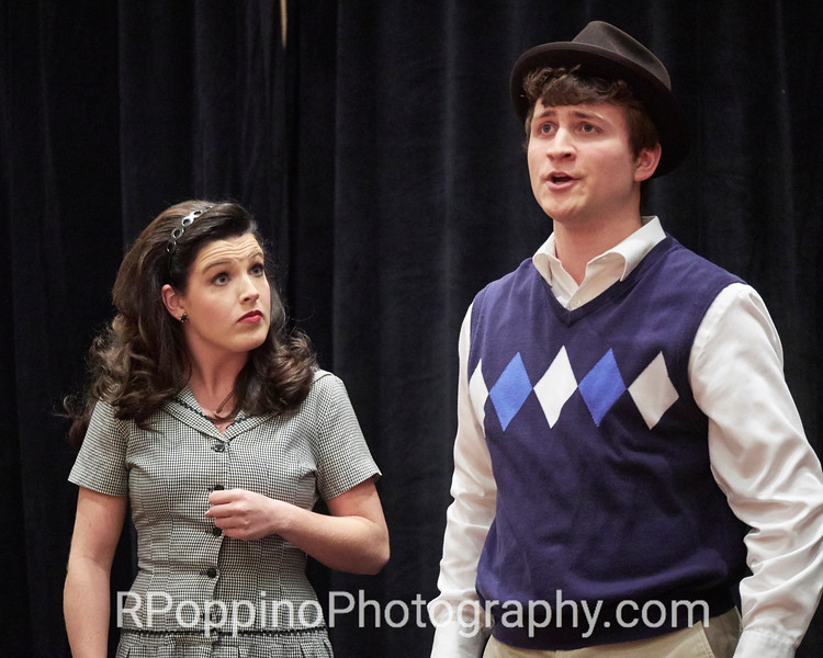 "2016 Collegiate Opera Scenes Competition; Loesser, How to Succeed in Business without Really Trying, Act I, ""Been a Long Day,"" Samford University, Thursday, January 7, 2016."