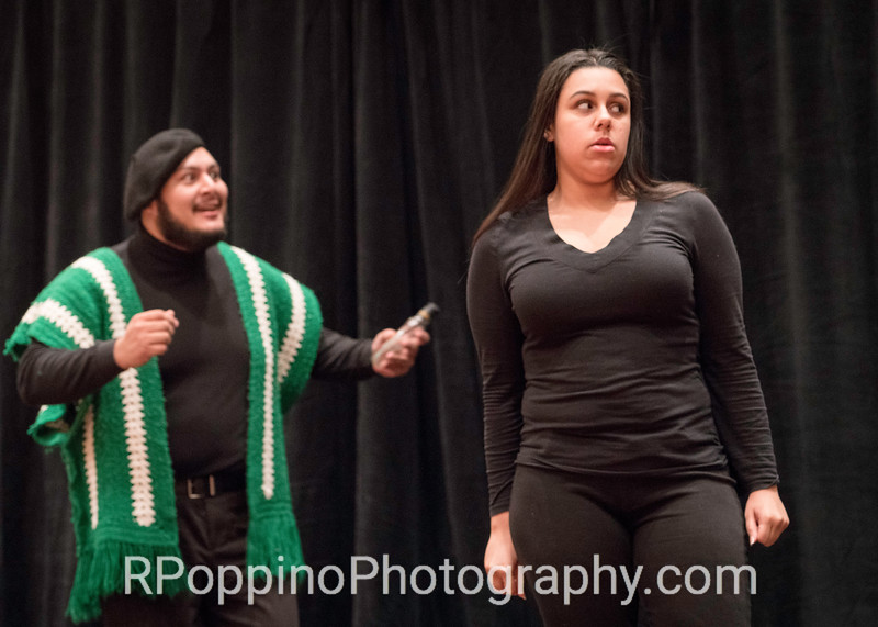 Donizetti, L'elisir d'amore, Act II, sc. 5, Sam Houston State University, rehearsal, Wednesday, January 6, 2016.