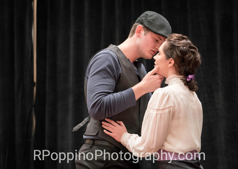 "2016 Collegiate Opera Scenes Competition; Rodgers and Hammerstein,  Carousel, Act I, ""The Bench Scene,"" Sam Houston State University, Thursday, January 7, 2016."